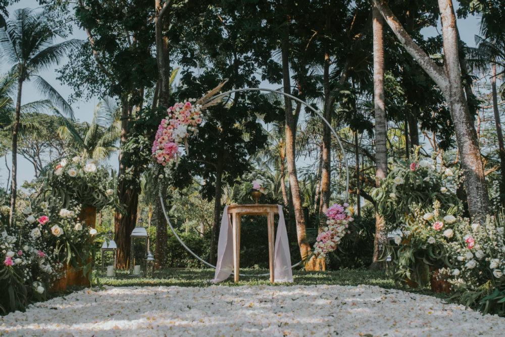 バリ島ウェディング