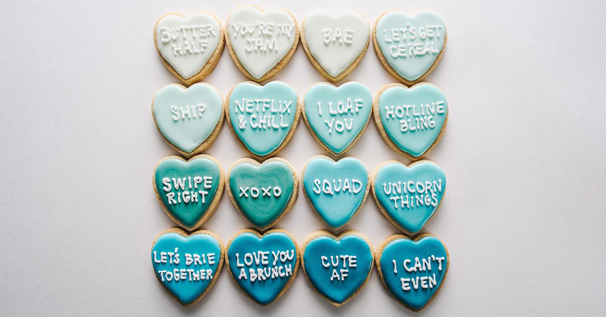 バレンタインに!ハート型メッセージ入りアイシングクッキーの作り方