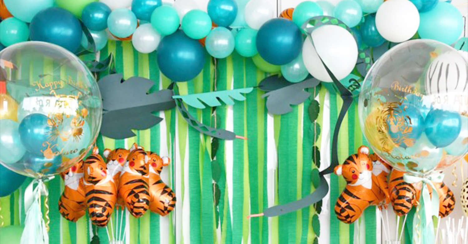 SAFARI JUNGLE BIRTHDAY PARTY