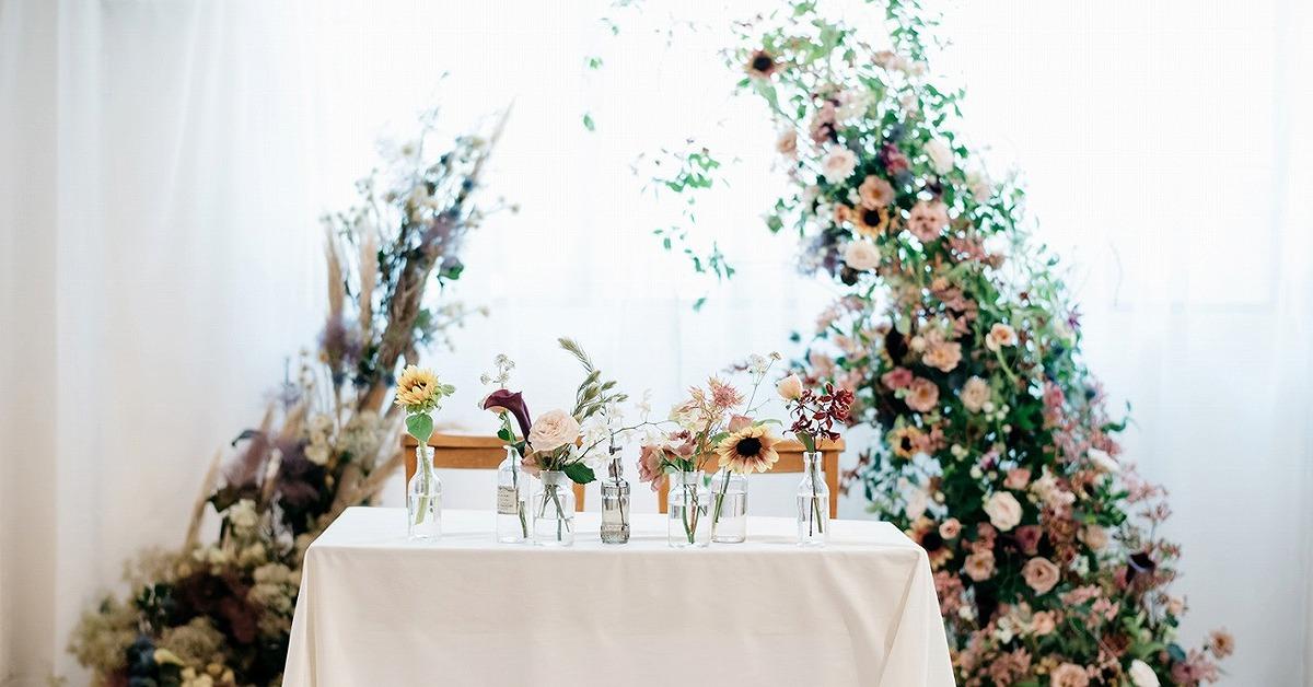 テーブルありの高砂がリバイバル。ARCH DAYS花嫁の実例14選