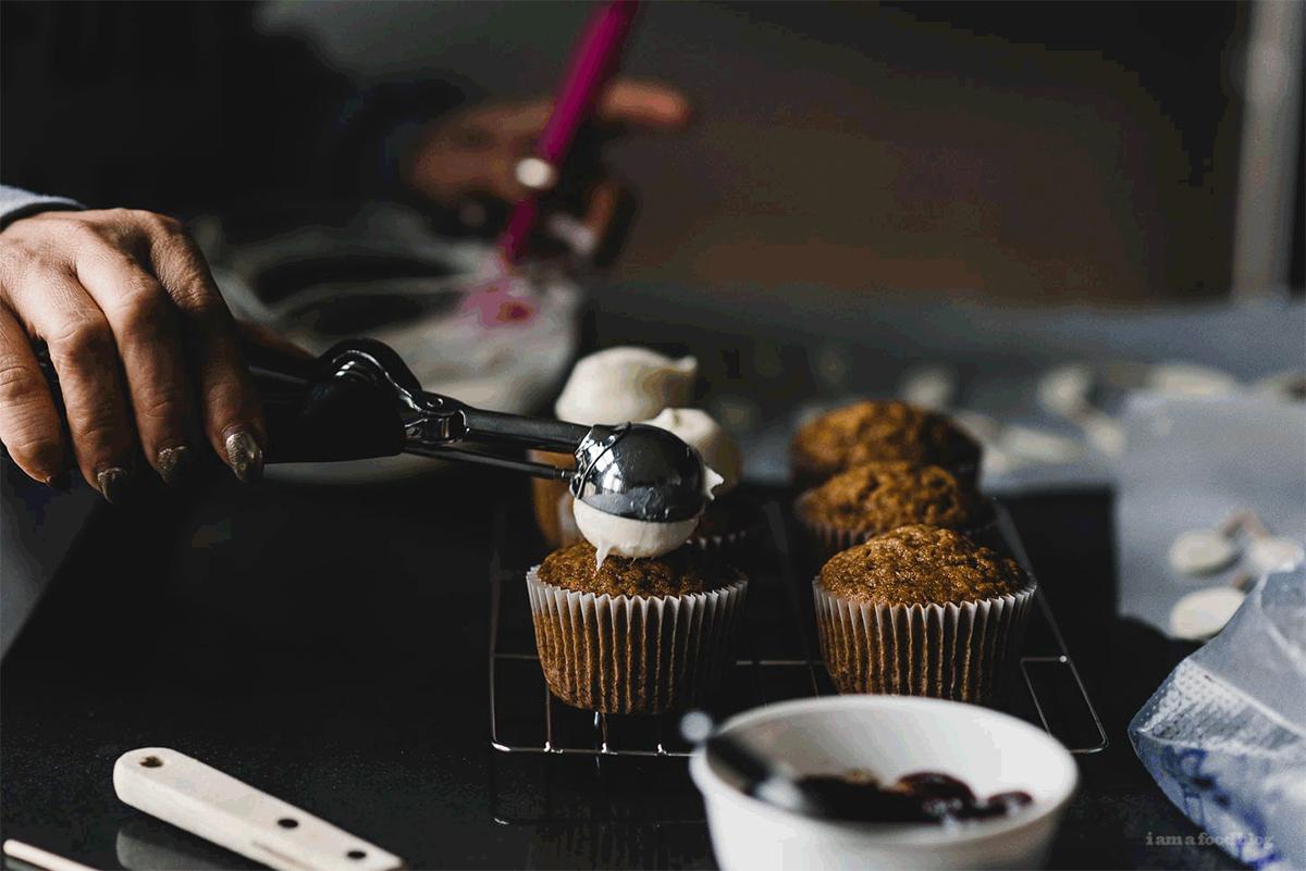 ミッフィーカップケーキ