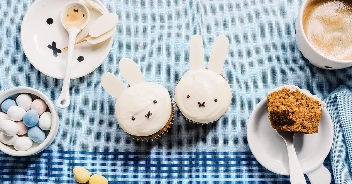 イースターはミッフィーでお祝い♪キャロットカップケーキの作り方