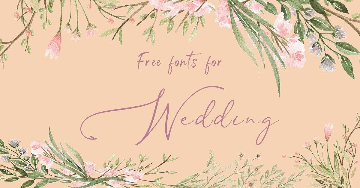 結婚式の手作りアイテムに!無料DLできるフリーフォント10選   第8弾