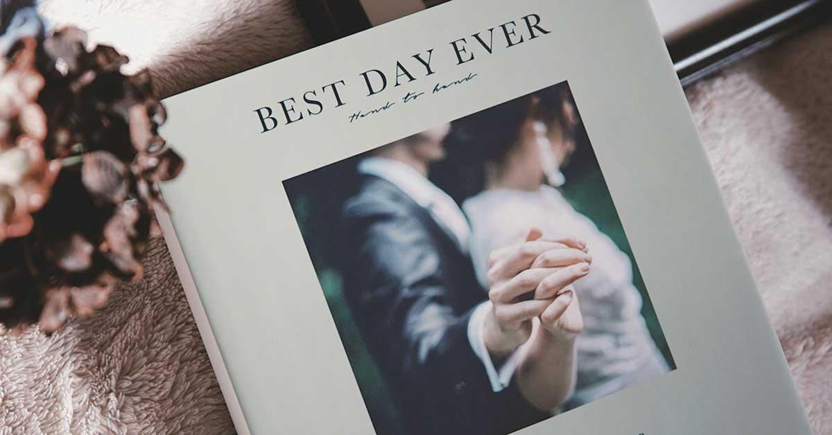 Photobackで大切な写真を一冊に!結婚式のプレセレモニーにも