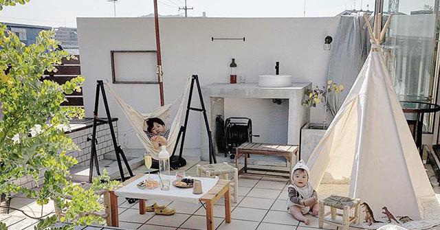 お家キャンプ