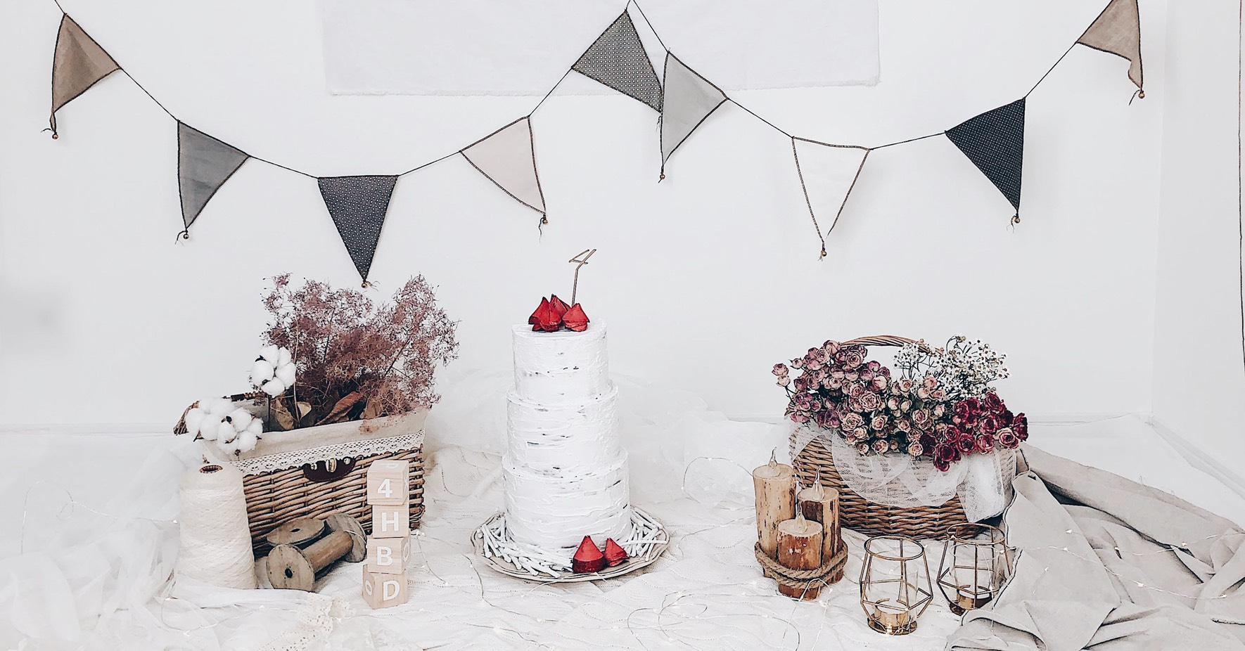 おうちを楽しく飾り付け!手作りできるお誕生日パーティーアイテム