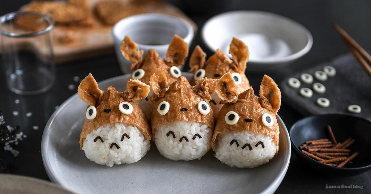 子どもが喜ぶおうちご飯♪かわいい「トトロいなり寿司」の作り方