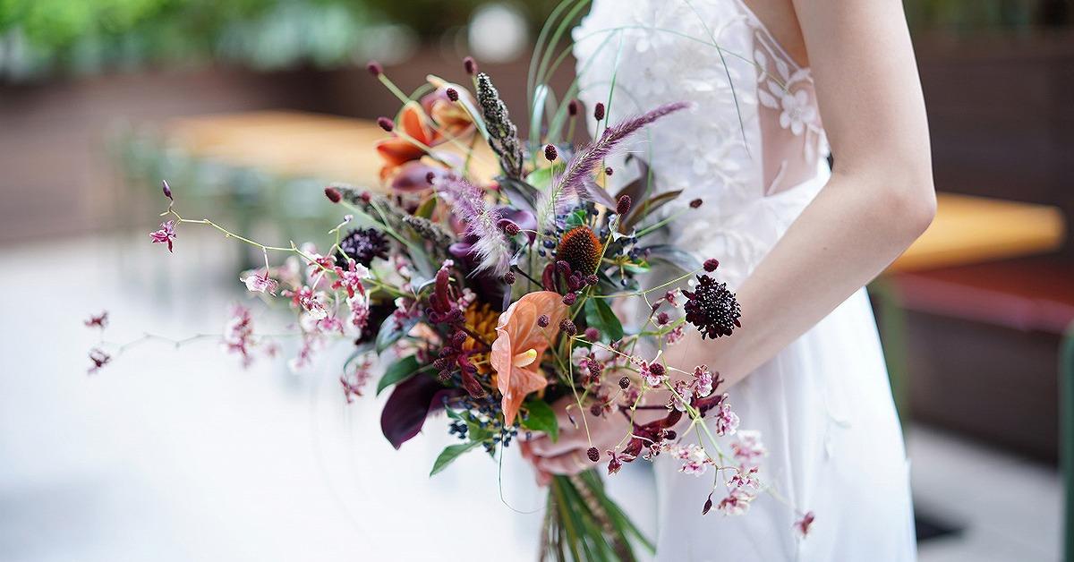 ウェディングブーケや装花のスパイスに!存在感抜群のアンスリウムがおしゃれ
