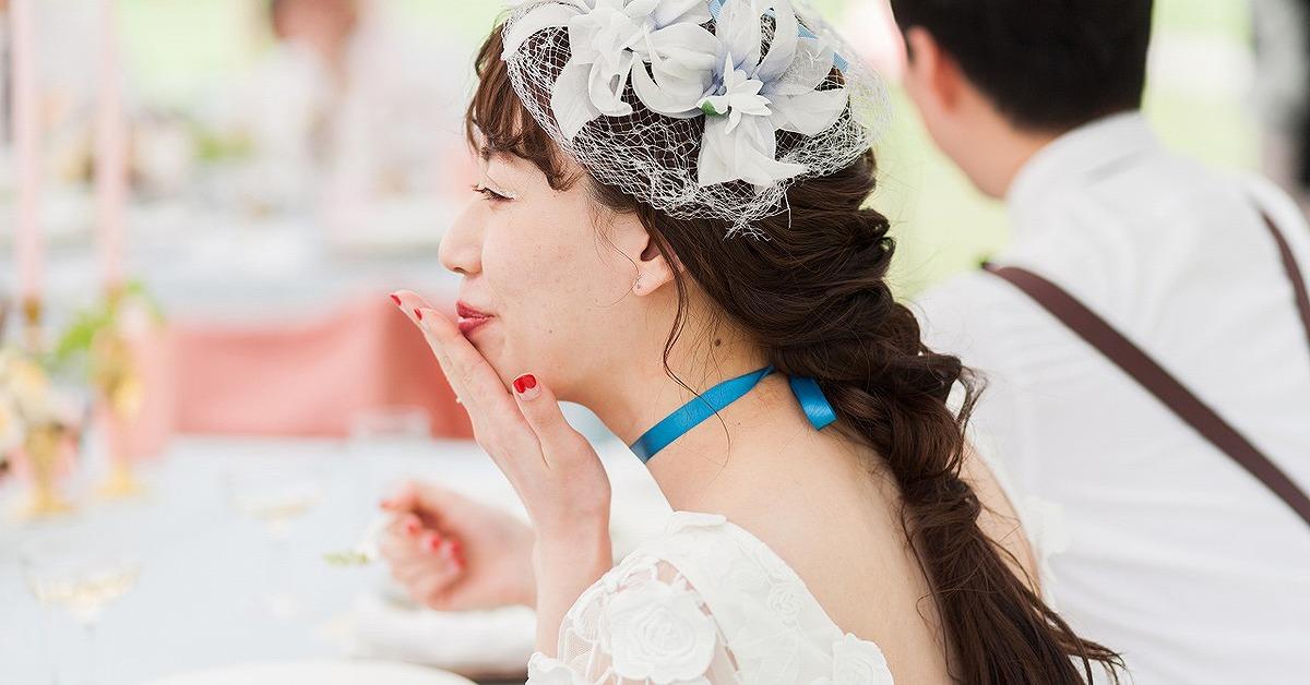 誰ともかぶらないヘアにしたい。個性派花嫁のウェディングヘアスタイル15選