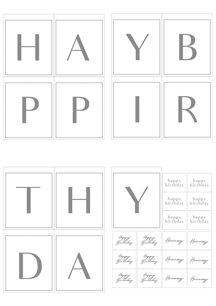 誕生日テンプレート