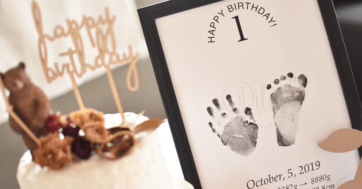 成長の記念を形に!赤ちゃんの「手形・足形」をアートに残すアイディア