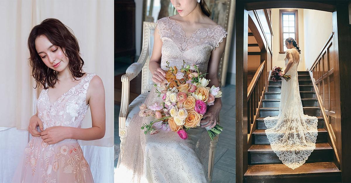 大人気ドレスサロンBeacon Dressのイチオシ。最新ウェディングドレス10選