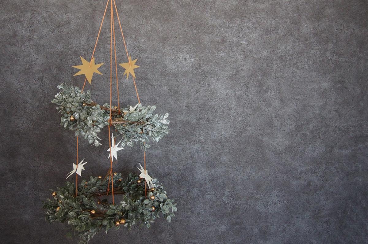 クリスマスシャンデリア