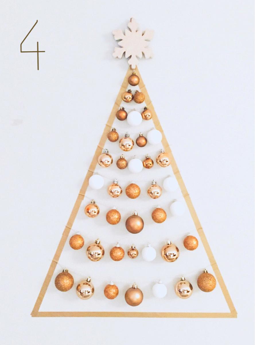 クリスマスウォールツリー