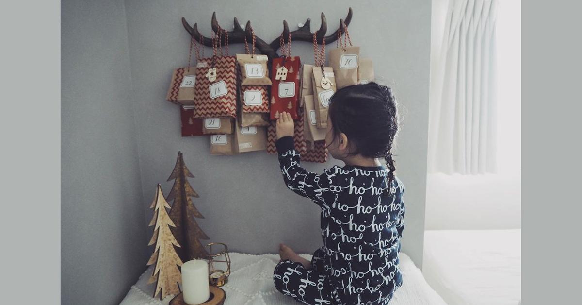 クリスマスまでカウントダウン♪おしゃれママたちの手作りアドベントカレンダー