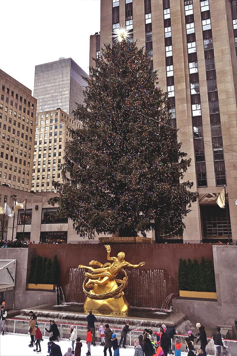 ニューヨークのクリスマス