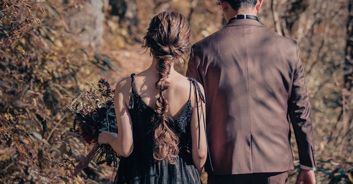 前撮り髪型|編みおろし・ローポニー・紐アレンジなど。35人の先輩花嫁ヘアカタログ