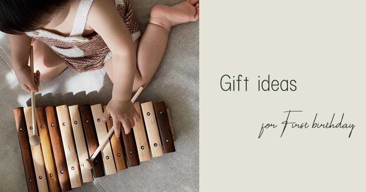 1歳の誕生日プレゼントにおすすめのアイテム9選