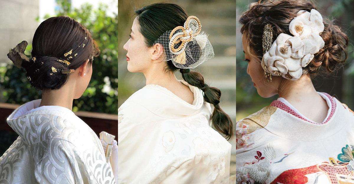 和婚花嫁必見!白無垢や色打掛に合わせたい、オシャレな和装ヘア13選
