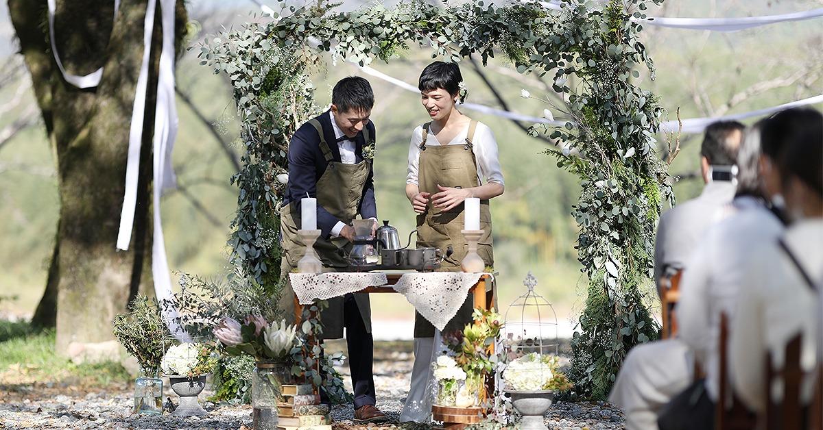 PARK OUTDOOR WEDDING
