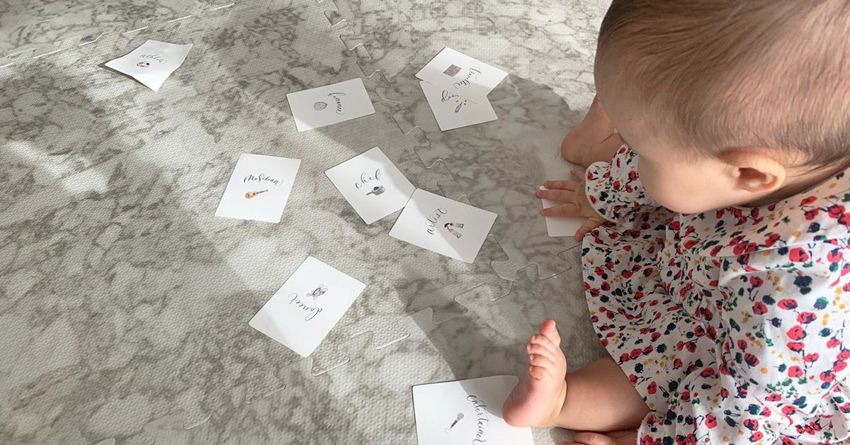 1歳の誕生日に | 選び取りカードの【無料テンプレート】第4弾
