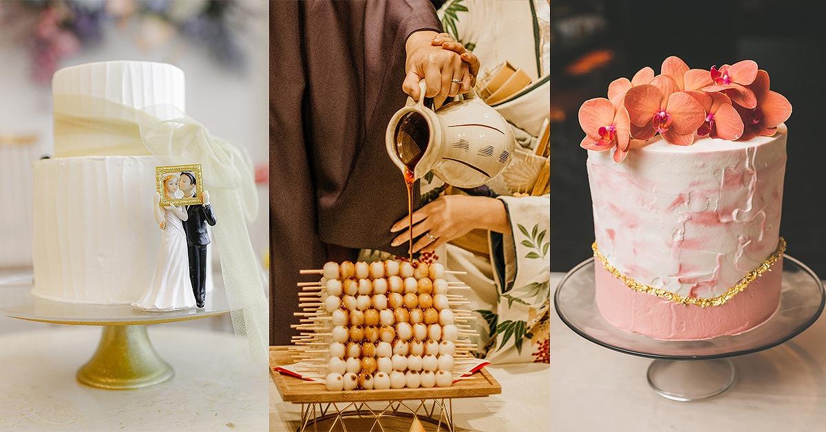 【ウェディングケーキまとめ】まるでアート!フォトジェニックなデザイン特集