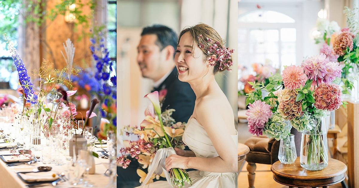 結婚式装花&ブーケ最新トレンド!今年のウェディングは明るいお花で決まり