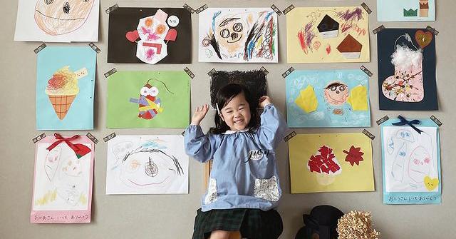 子供の絵を思い出に残す「おうち作品展」とは | 保育園・幼稚園ママ必見