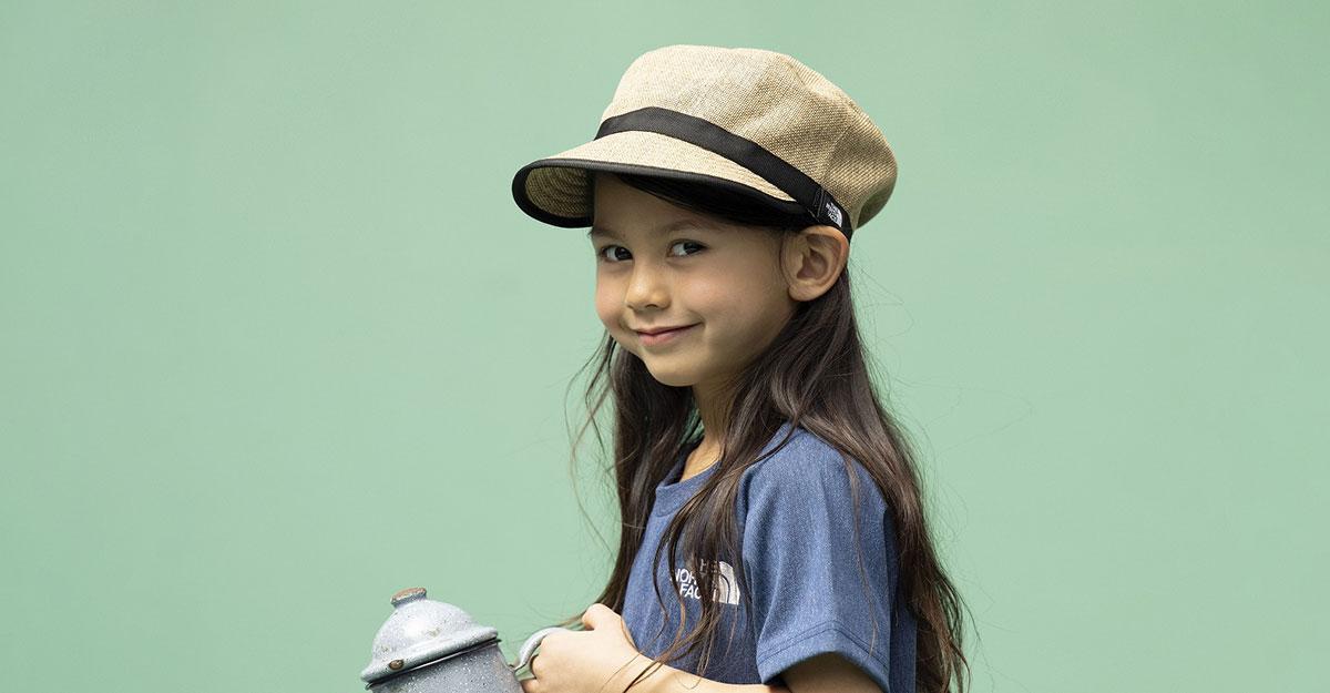 【THE NORTH FACE】UV対策・安全設計|外遊びの必需品。おすすめのキッズ帽子