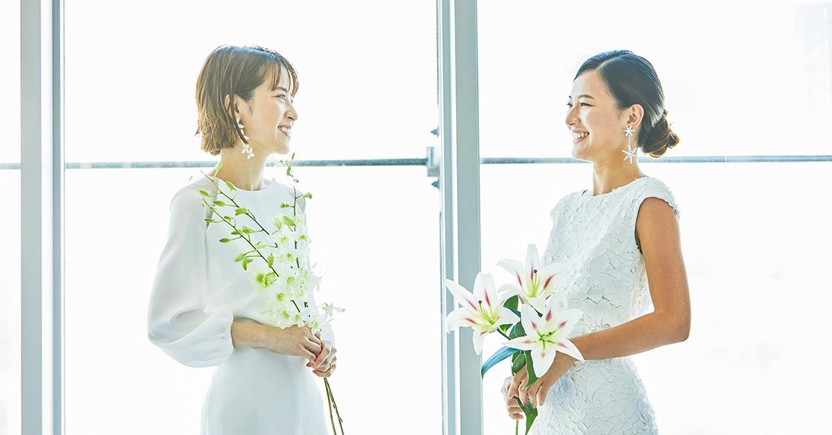 おしゃれ花嫁は今「アンテリーベ」に夢中!it Bridesが着る最旬ドレス
