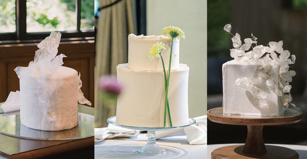 ウェディングケーキデザイン シンプル&おしゃれ!こだわり花嫁の実例9選