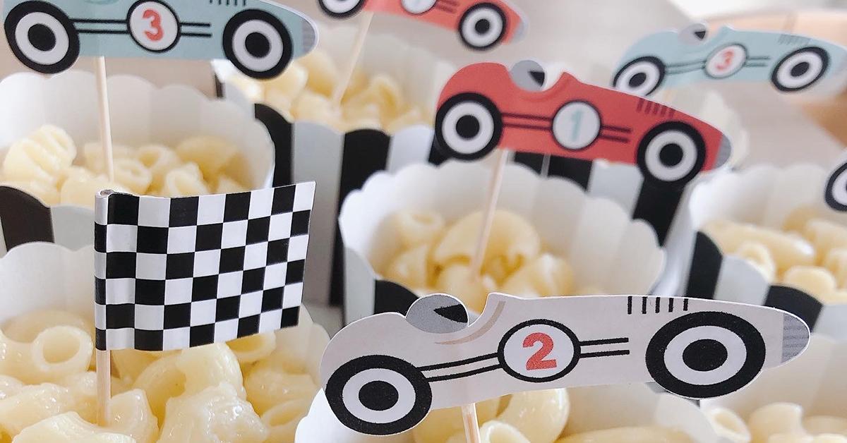 RACING CAR PARTY!